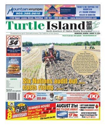Turtle Island News - 08/15/2018