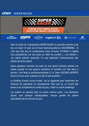 SACHENRING SUPER RACER 14 aout 2018