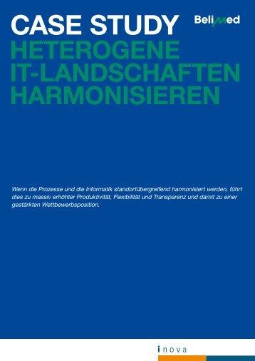"""Case Study Belimed AG: """"Heterogene IT-Landschaften ... - Inova"""
