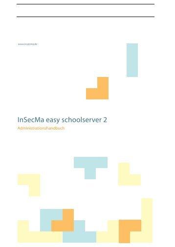 Handbuch für Lehrer - Insecma Solutions GmbH