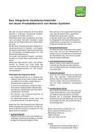 Das integrierte Insektenschutzrollo - Neher Insektenschutz