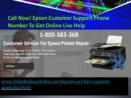 Get Solution Slow Printer Issue Epson Printer Support Number