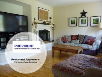 Provident Northern Destiny Thanisandra Main Road Property sell in Bangalore