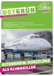 OSTGRÜN, Ausgabe 1/2017