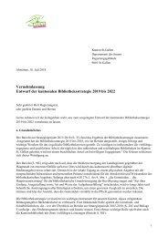 Entwurf Kantonale Bibliotheksstrategie 2019 bis 2022