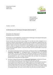 XV. Nachtrag zum Steuergesetz (Steuervorlage 17)