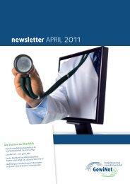 Newsletter April 2011 - GewiNet