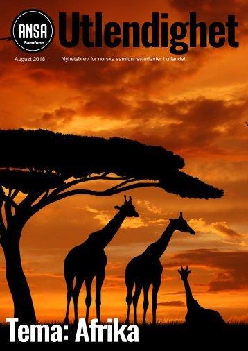 ANSA Fag og Karriere August-Afrika-Utgåven