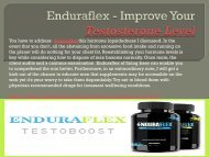 Enduraflex - Boost Your Body Health