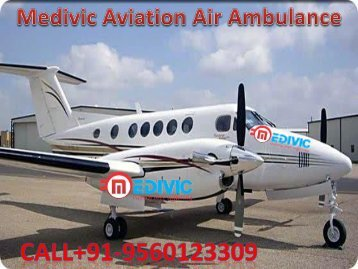 Medivic Air Ambulance Services from Darbhanga to Delhi