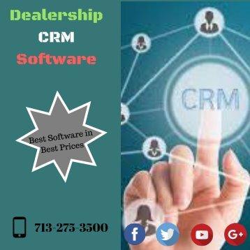 Dealership cRM Software