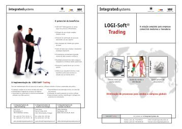 LOGI-Soft® Trading - is Integrated Systems AG