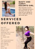 Mumbai escorts services by young and beautiful girls - Page 2