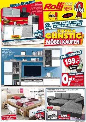 Extra günstig Möbel kaufen: Rolli SB-Möbelmarkt, 65604 Elz bei Limburg