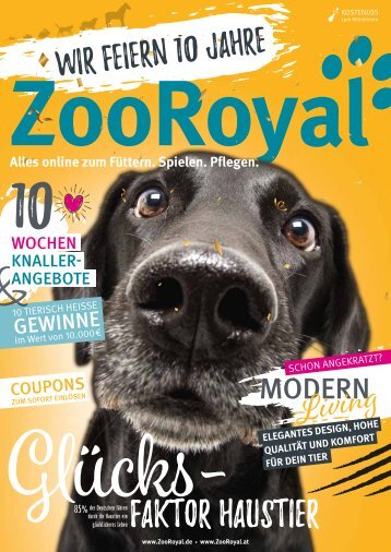 ZooRoyal Jubiläums-Magazin