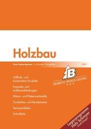 Behrens-Wöhlk-Gruppe Holzbau 2017