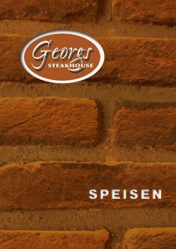 Georgs Steakhouse Speisekarte