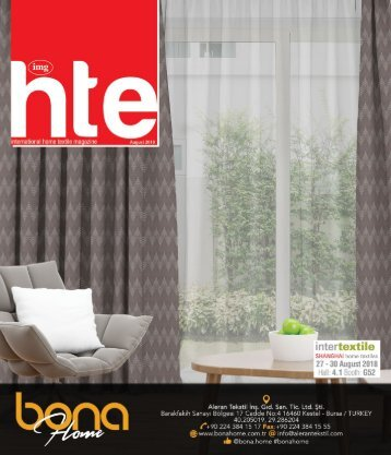 Home Textile Magazine August 2018