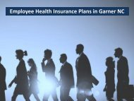 Employee Health Insurance Plans in Garner NC