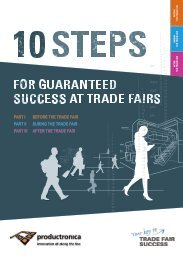 productronica 2019 // 10 steps for guaranteed success at trade fairs
