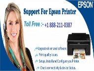 Dial+1 888-211-0387 How To Install Epson Wireless Printer Drivers