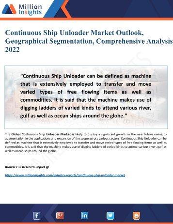 Continuous Ship Unloader Market