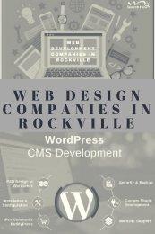 Web Development Company in Rockville