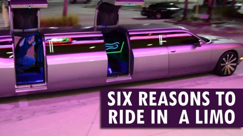 Six Reasons To Ride In  A Limo