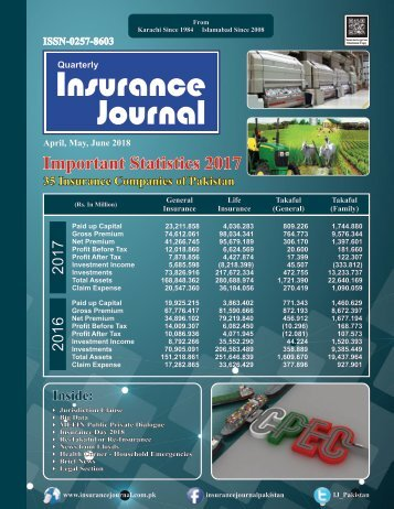 Insurance Journal (2nd Quarter 2018)