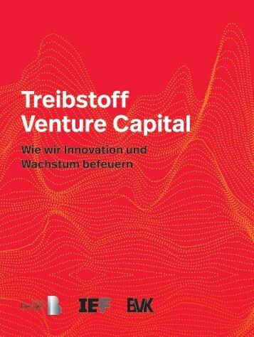 Treibstoff Venture Capital: Wie wir Innovation und Wachstum befeuern