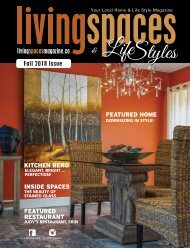 Fall 2018 LivingSpaces and Lifestyles Magazine-links