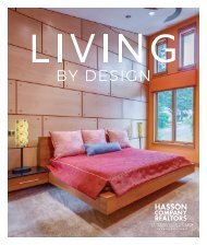 Hasson Special Insert  Sept   Oct 2018