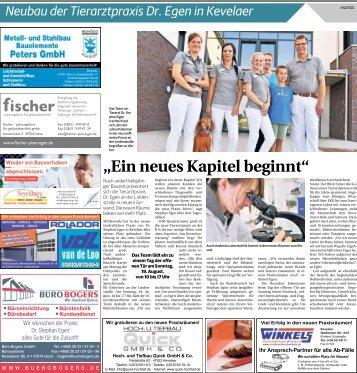 Neubau der Tierarztpraxis Dr. Egen in Kevelaer  -17.08.2018-
