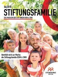 Stiftungsfamilie - Ausgabe 04/2018