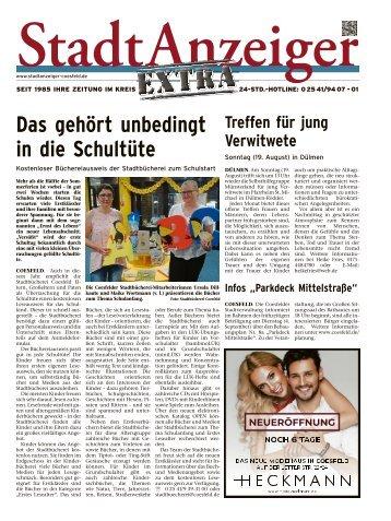 Stadtanzeiger Extra kw 33