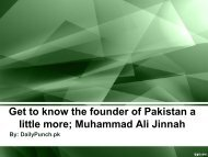 Get to know the founder of Pakistan a little more; Muhammad Ali Jinnah
