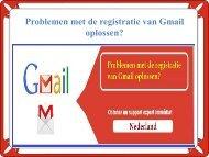 Problemen met de registratie van Gmail oplossen?