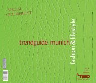 Trendguide Munich Fashion&Lifestyle no.1 2010