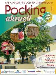Pocking Aktuell August 2011