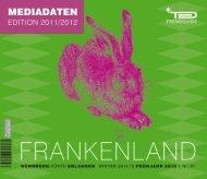 Mediadaten Trendguide Frankenland