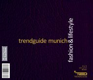 Trendguide Munich Fashion & Lifestyle No 5