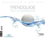 Trendguide Golf und Thermenland No 1 2011