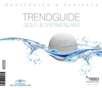 Trendguide Golf und Thermenland No 1 2011