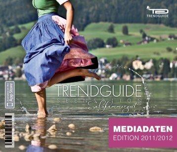 Trendguide Salzkammergut Mediadaten