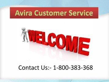 1-800-383-368 Avira Antivirus Support Number Australia- How to Update Antivirus