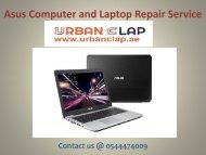 Reach us at Asus Computer and Laptop Repair Service Center to get the solution, Call @ 0544474009