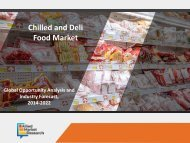 Chilled and Deli Food Market