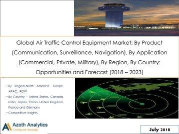 Global Air Traffic Control Equipment Market Report(2018-2023)