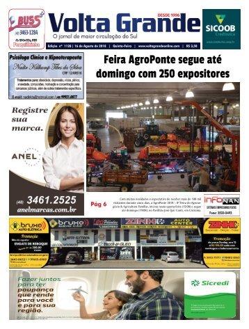 Edição 1128 - Jornal Volta Grande | Forq/Veneza