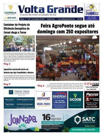 Edição 1128 - Jornal Volta Grande   Região